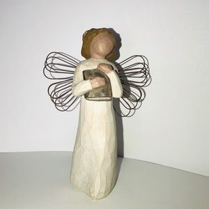 Willow Tree Angel Of Learning Ornament 1999